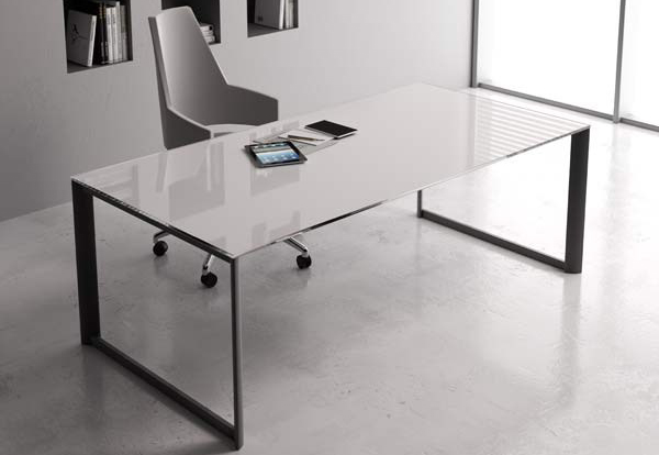 New Straight Simple Manager Office Writing Desk Table