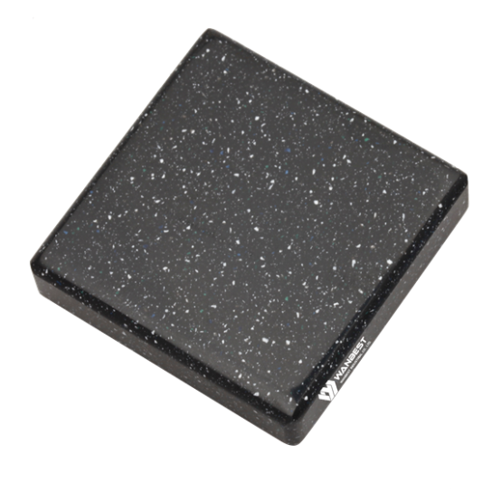 Black Crystal Solid Surface Color Option