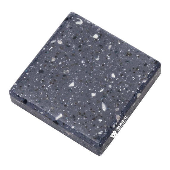 Pebble Blue Artificial Marble Color
