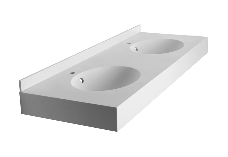 White Corian Sink Worktop fitter fitting Suppliers
