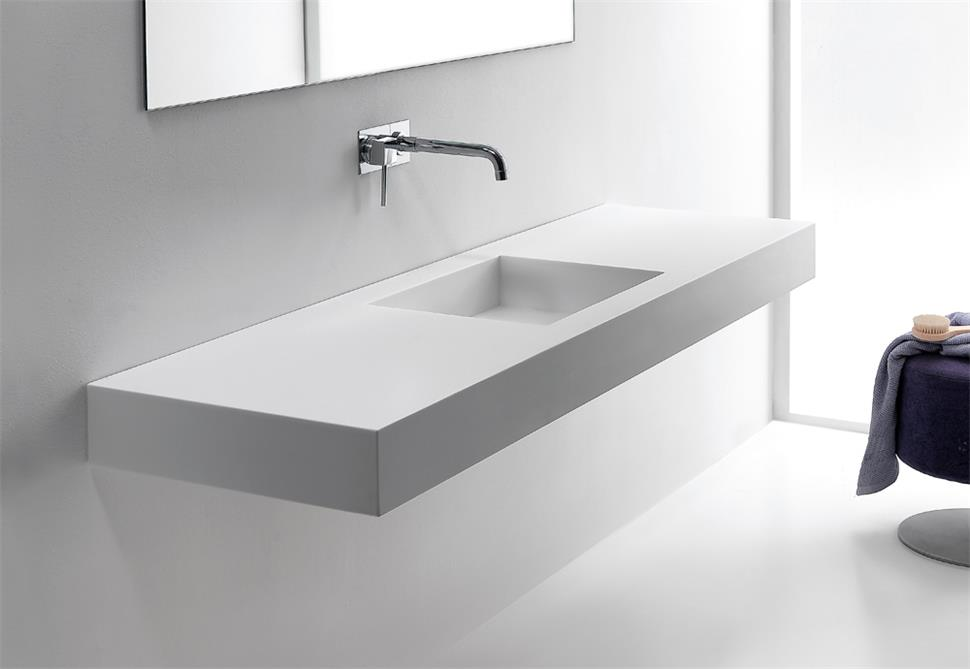 Solid Surface Vanity Top Custom Furniture Porducts