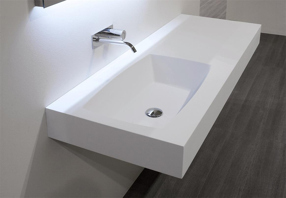 Double Sink Corian Formica Hi Macs Solid Surface Vanity
