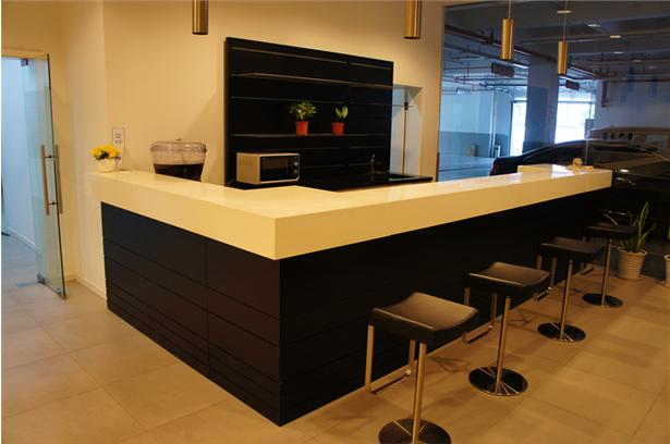 Simple design-reception information bar counter