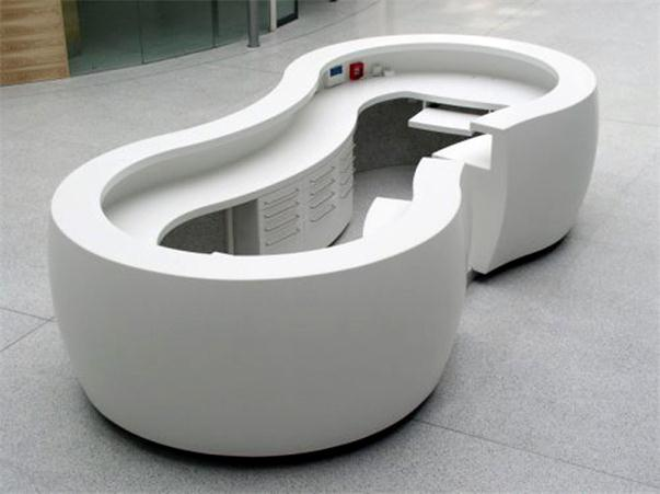circle reception counter