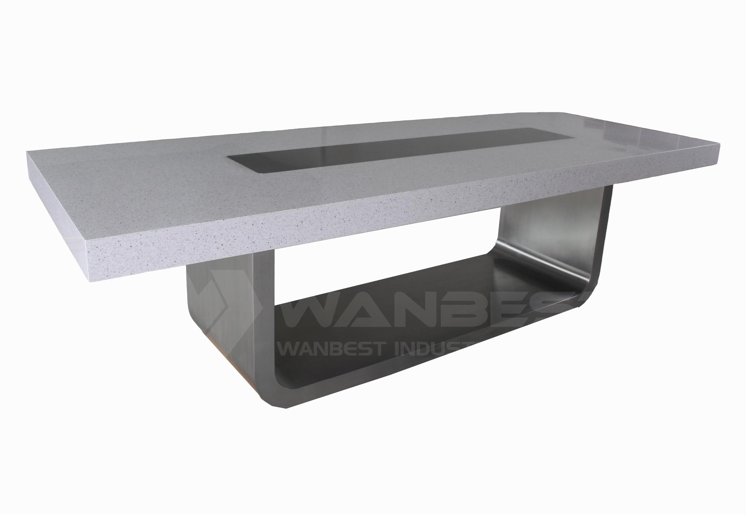 stone meeting table