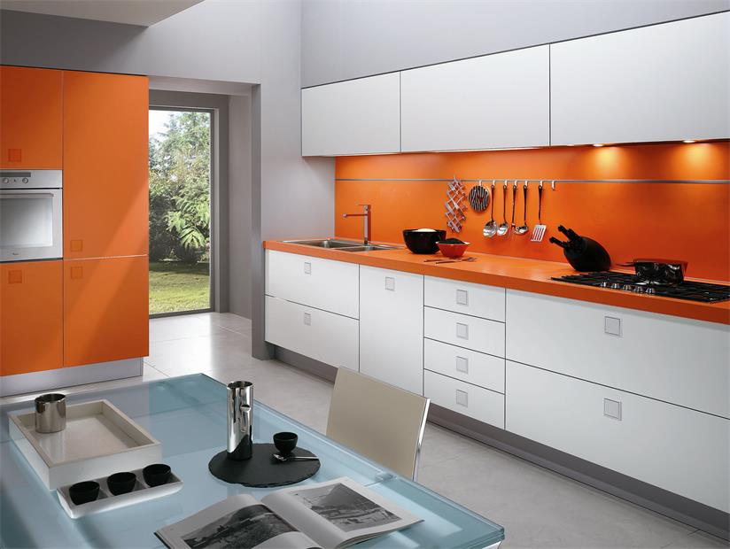 Modern design kitchen counter with variety color