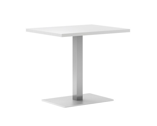 Small square dining table mini design white color for sale