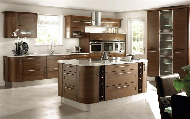 European retro style kitchen island new design