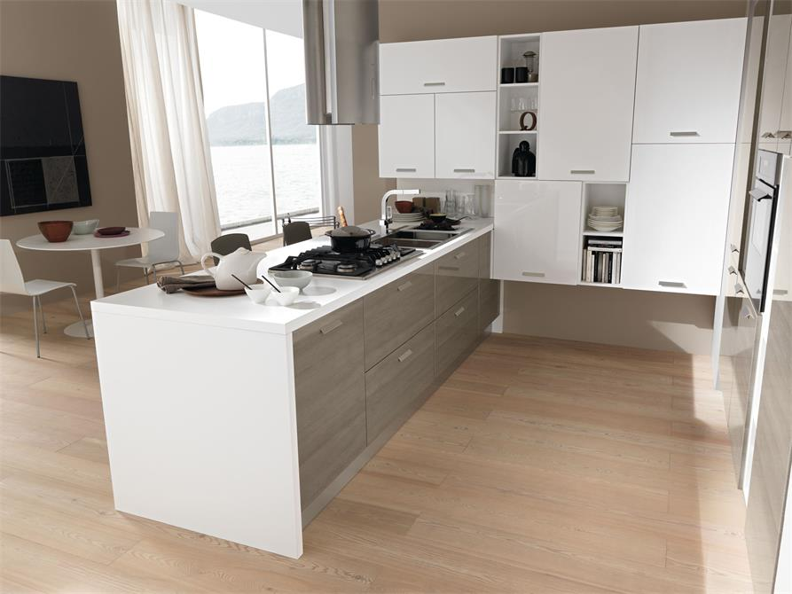 Mini functional kitchen counter new modern design for sale