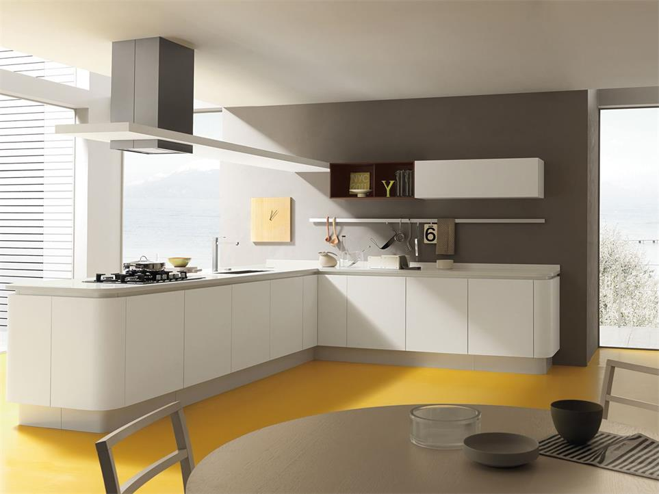 Multi-functional kitchen counter modern design for sale