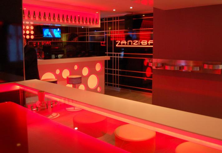 nighclub furniture artificial stone elegant bar counter