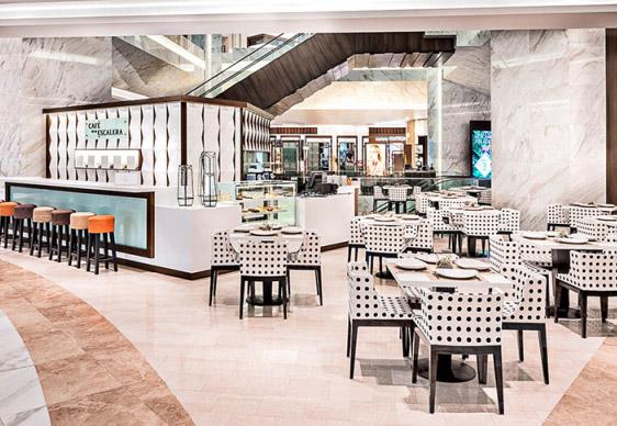 commercial unique design cafe store dessert bar counter