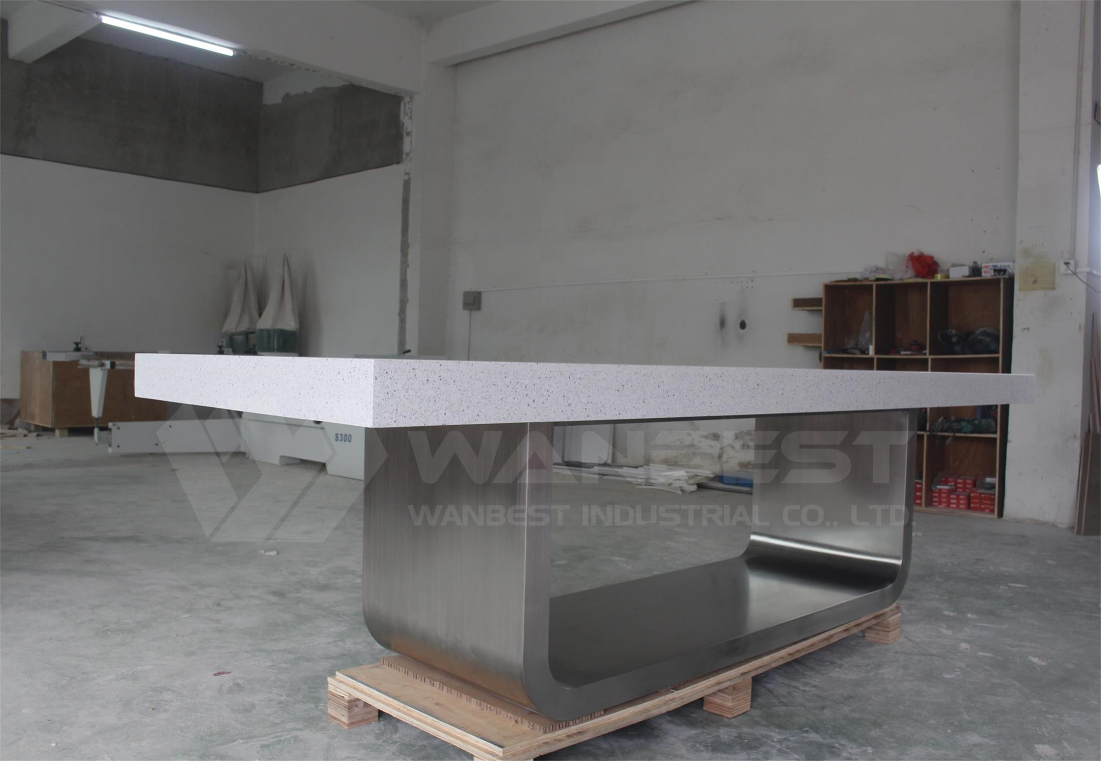 Modern Conference Table Stone Meeting Desk - Granite conference table for sale