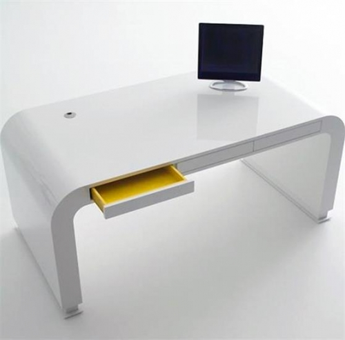 New Design White Personal Small Office Desk Furniture
