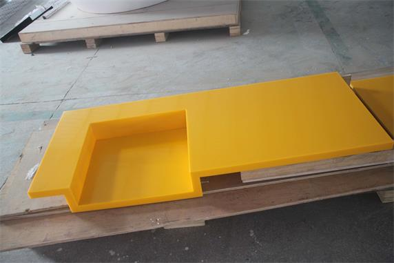 yellow corian solid surface countertops custom size