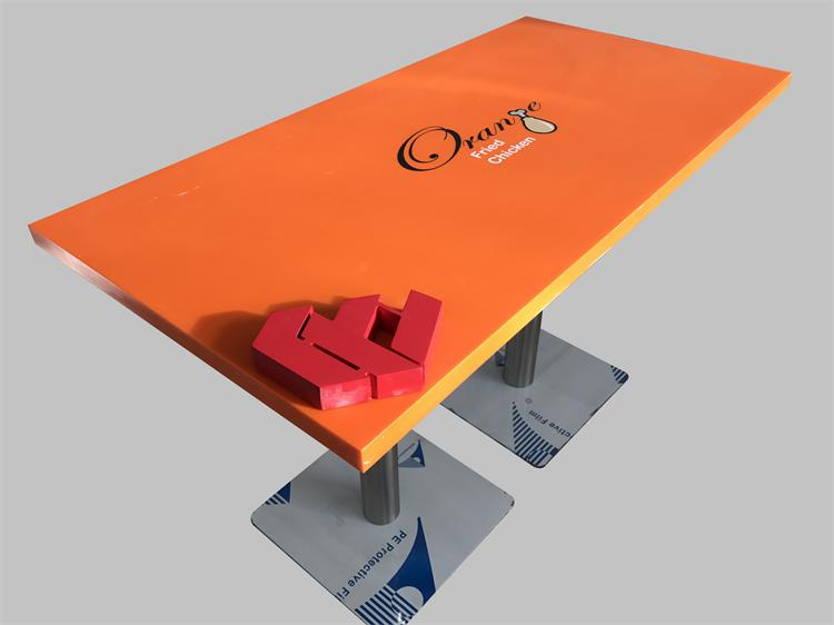 solid surface table
