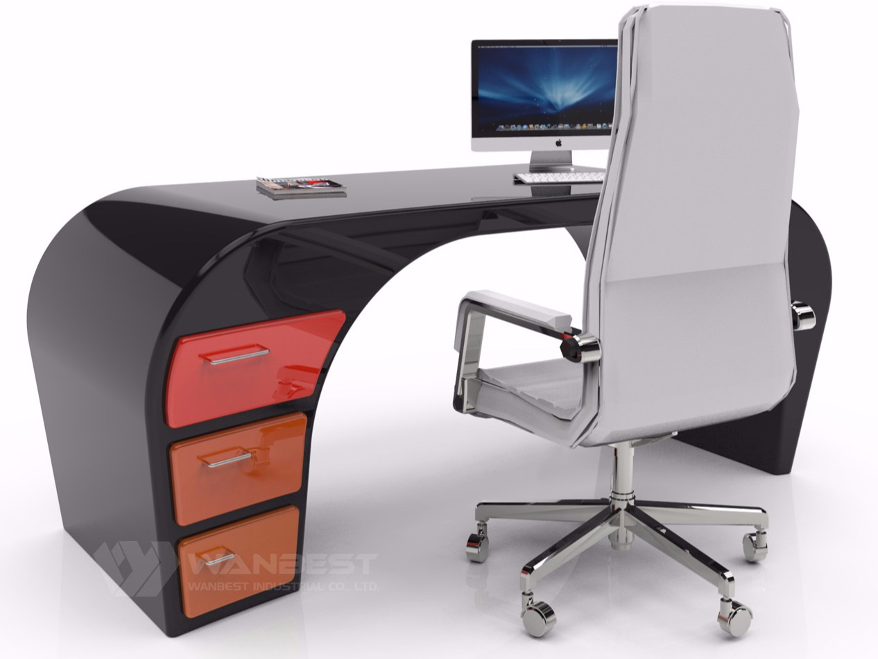 office desk black