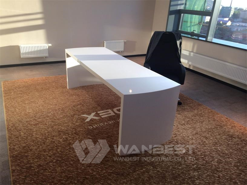 artificial stone manager desk