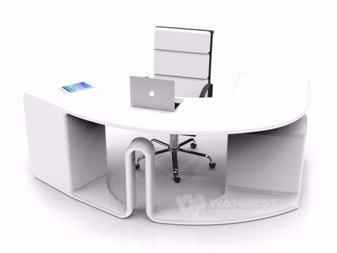 round office desk. Round Office Desk-white Desk