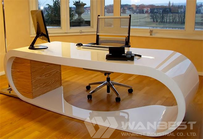 Customized Artifical Marbel Office Desk