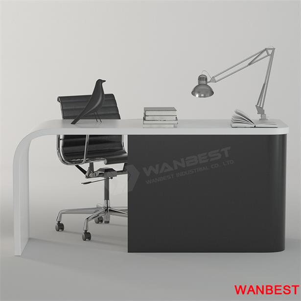 manager desk-white