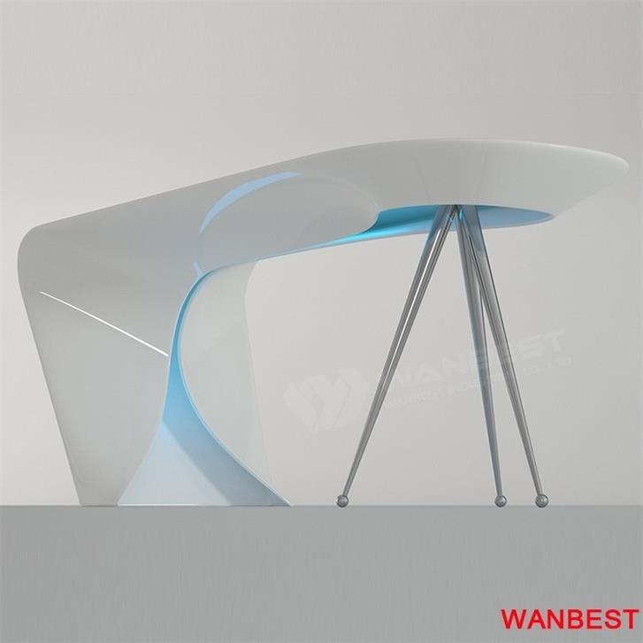 curved office furniture-details