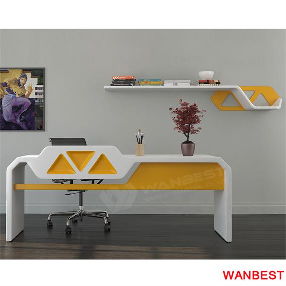 yellow office worktop marble office furniture corian. Newest Design Made By Artificial Stone Hot Sale Office Desk Yellow Worktop Marble Furniture Corian