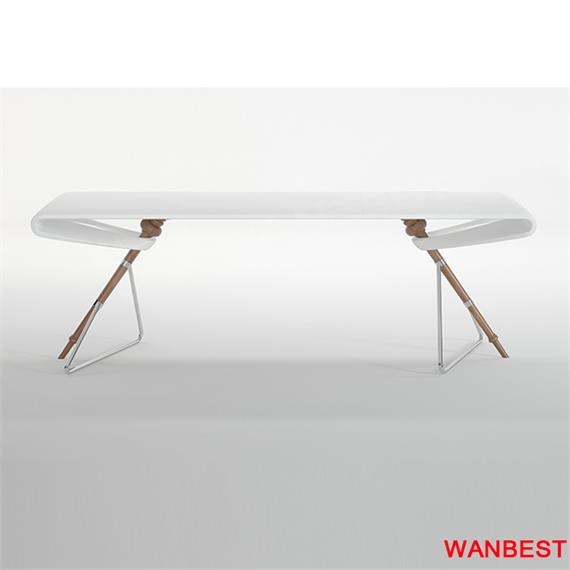 Contemporary boutique  fashion artificial stone CEO room desk