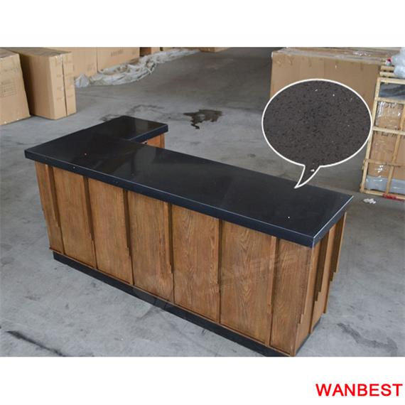 Customized Fashionable Office Hot selling L Shaped Reception Desk