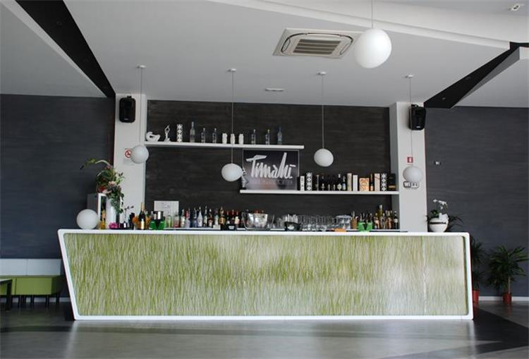 Simple but beautiful bar counter