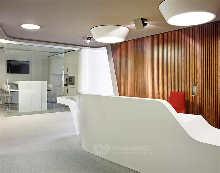 salon reception desk