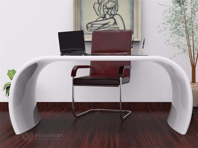 Half round office desk for boss home computer desk simple design U type Office Desk