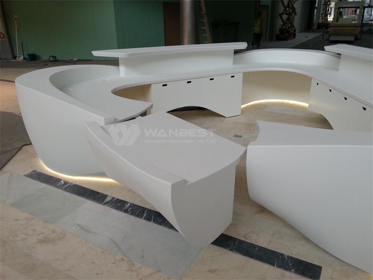 modern design reception counter