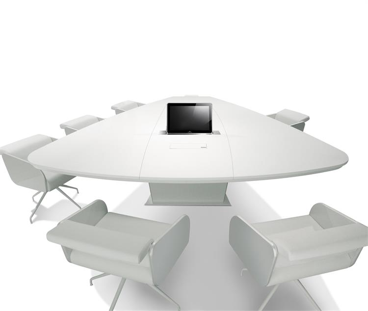 conference table - white