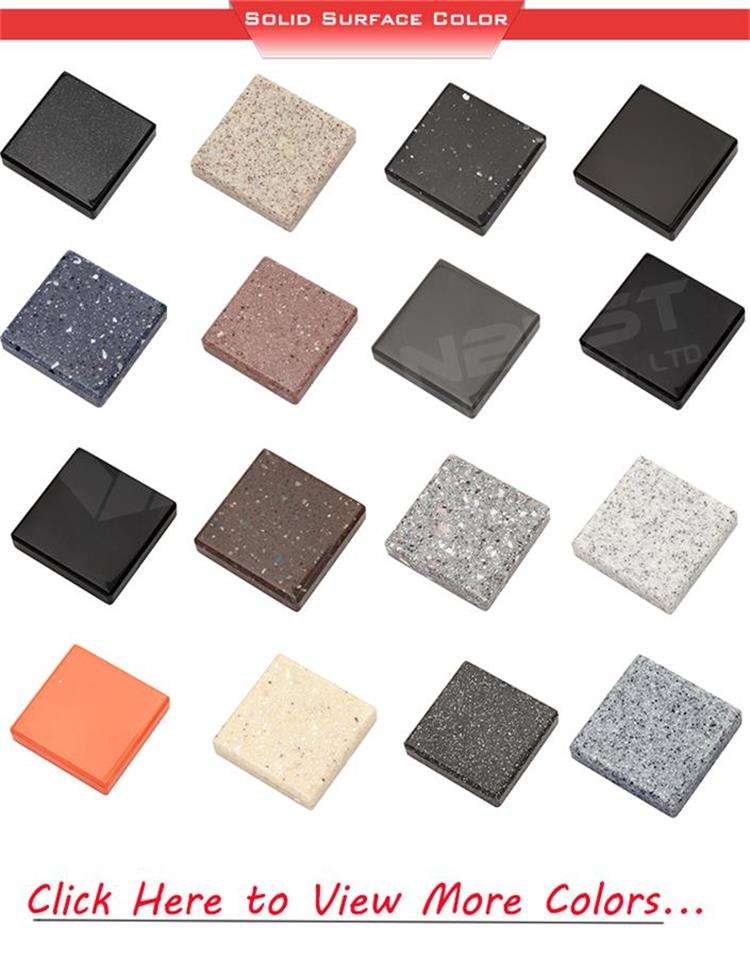 color list of silod surface