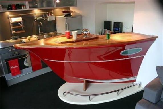 Modern Special Boat Design Bar Counter Furniture
