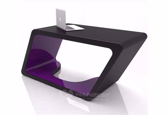 Square Box Design Modern Computer Desk Furniture For Home Sale