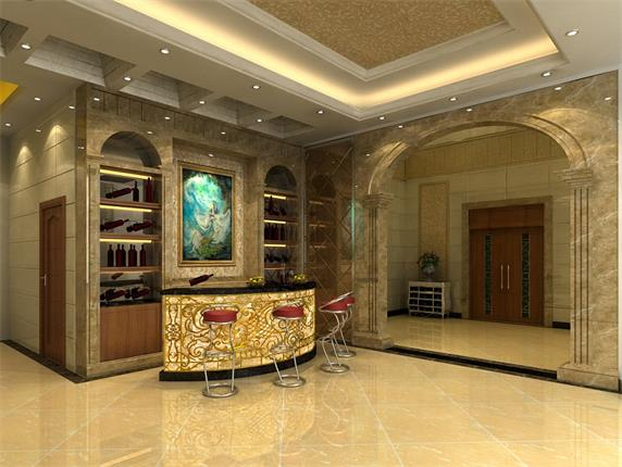 Luxury Club Reception Elegant High Quality Bar Counter
