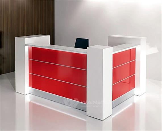 U Shape Front Desk Office Furniture Design Good Price