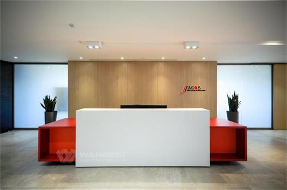 Classic Official Waiting Room Furniture Reception Desk