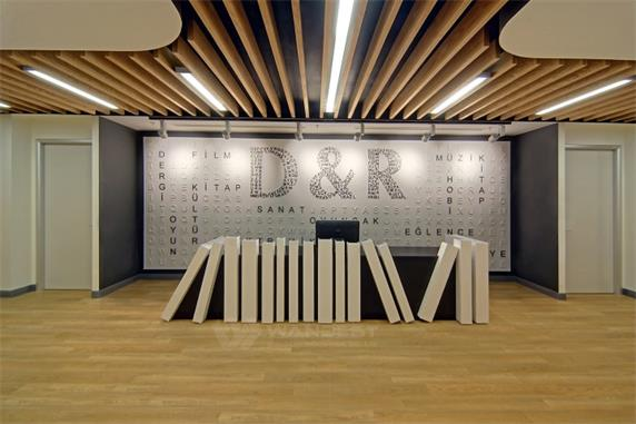 Book Publishing Company  Reception  Counter Design