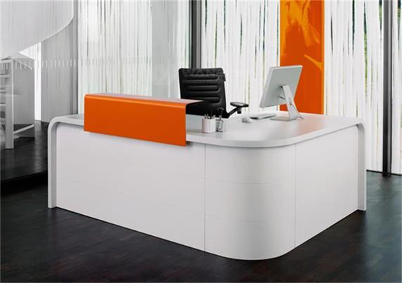 Corner Computer Desk Cheap Office Furniture White Color