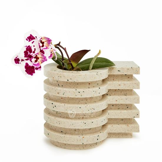 Simple generous design Miami Motel flowerpot