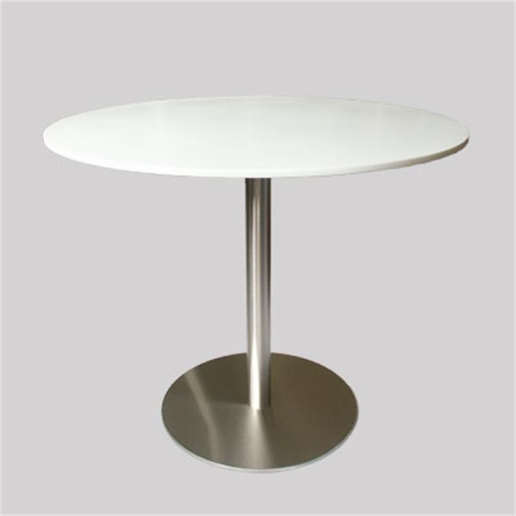 Round Artificial Marble Restaurant Dining Table