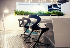 8 Racetrack Cool Conference Table Office Meeting