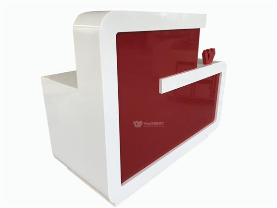 Z shape Popular Personal  Reception Counter Best Sale