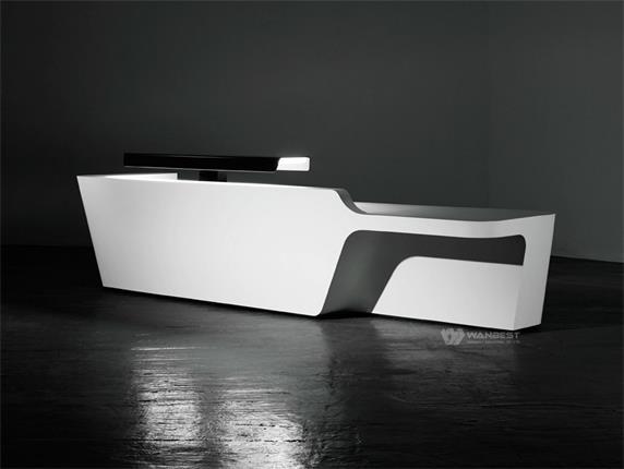 reception furniture design. Modern Industial Office Furniture Design White Reception Desk T