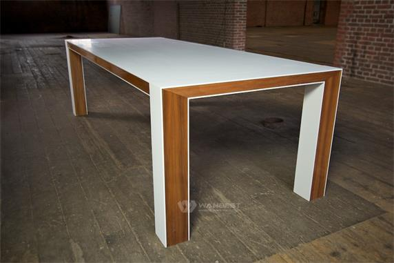 New Design Man Made Stone Top Dining Table For Sale