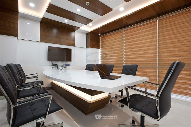 Conference table with LED