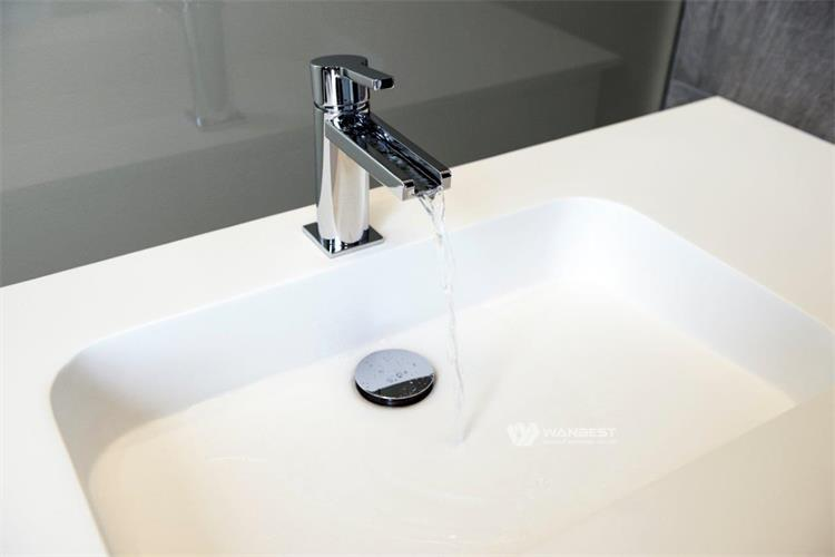 The detsial of sink